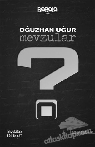 MEVZULAR (  )