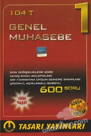 104 T - GENEL MUHASEBE 1 (  )