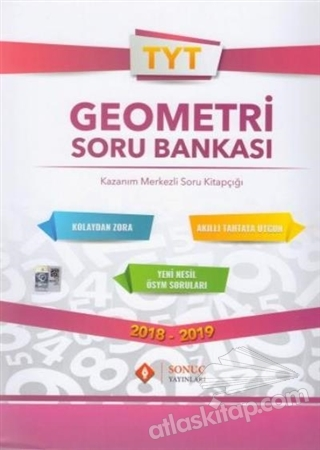 2018 - 2019 TYT GEOMETRİ SORU BANKASI ( KAZANIM MERKEZLİ SORU KİTAPÇIĞI )