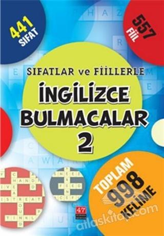SIFATLAR VE FİİLLERLE İNGİLİZCE BULMACALAR 2 (  )