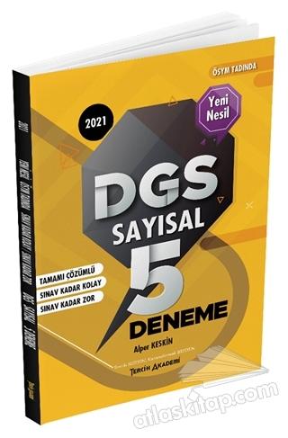 2021 DGS SAYISAL TAMAMI ÇÖZÜMLÜ 5 DENEME (  )
