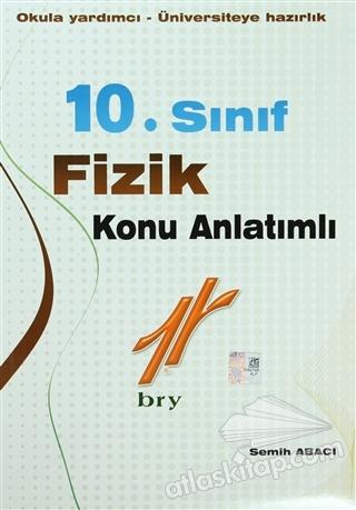 10. SINIF FİZİK KONU ANLATIMLI ( OKULA YARDIMCI - ÜNİVERSİTEYE HAZIRLIK )