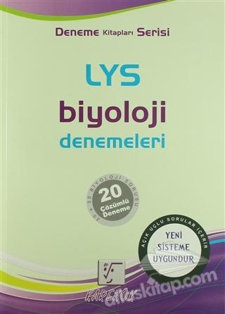 LYS BİYOLOJİ DENEMELERİ ( DENEME KİTAPLARI SERİSİ )