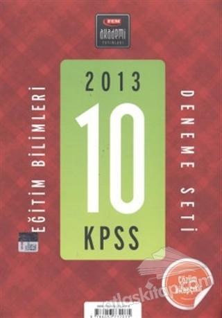 2013 KPSS EĞİTİM BİLİMLERİ DENEME SETİ (10'LU) (  )