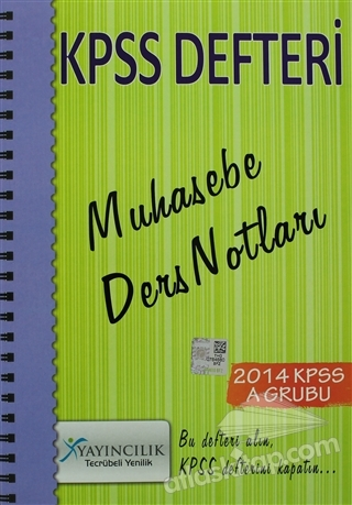 2014 KPSS A GRUBU - KPSS DEFTERİ MUHASEBE DERS NOTLARI (  )