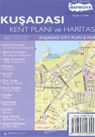 KUŞADASI KENT PLANI VE HARİTASI KUŞADASI CİTY PLAN & MAP (  )