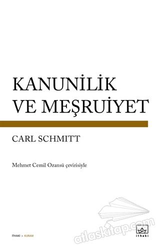 KANUNİLİK VE MEŞRUİYET (  )