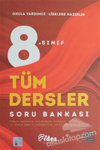 8. SINIF TÜM DERSLER SORU BANKASI ( OKULA YARDIMCI - LİSELERE HAZIRLIK )