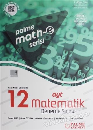 2020 AYT MATH-E 12 MATEMATİK DENEME SINAVI (  )