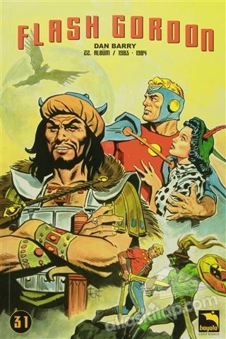 FLASH GORDON 31. CİLT ( 22. ALBÜM / 1983-1984 )