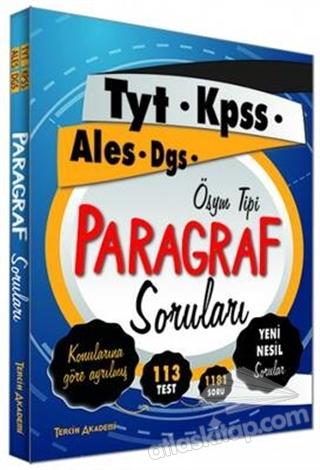 PARAGRAF SORULARI (  )