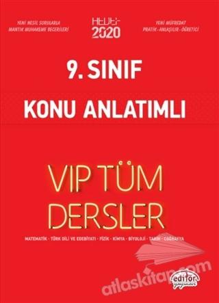 9. SINIF VİP TÜM DERSLER KONU ANLATIMLI (  )