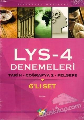 FDD LYS 4 DENEMELERİ 6'LI SET (  )