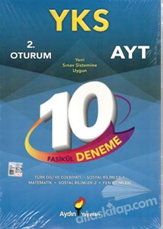 2019 YKS AYT 2. OTURUM 10 FASİKÜL DENEME (  )