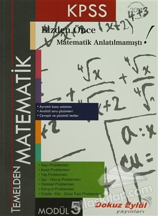 KPSS TEMELDEN MATEMATİK MODÜL 5 (  )