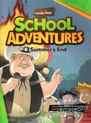 SUMMER'S END +CD (SCHOOL ADVENTURES 1) (  )