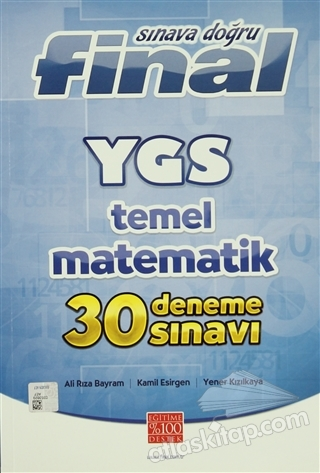FİNAL YGS TEMEL MATEMATİK 30 DENEME SINAVI (  )