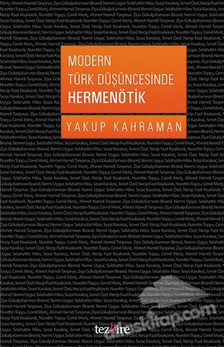 MODERN TÜRK DÜŞÜNCESİNDE HERMENÖTİK (  )