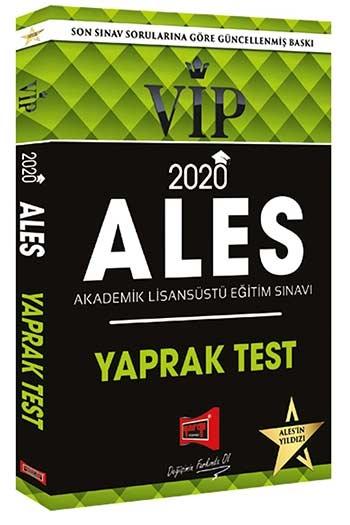 YARGI YAYINLARI 2020 ALES VIP YAPRAK TEST ( YARGI YAYINLARI 2020 ALES VIP YAPRAK TEST )