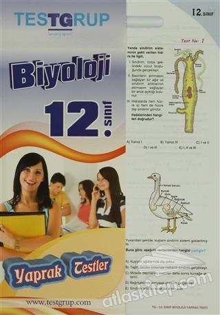 12. SINIF BİYOLOJİ YAPRAK TESTLER (  )