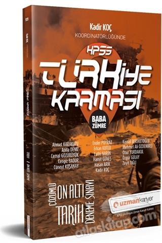 2019 KPSS TÜRKİYE KARMASI BABA ZÜMRE TARİH 16 DENEME SINAVI TAMAMI ÇÖZÜMLÜ (  )