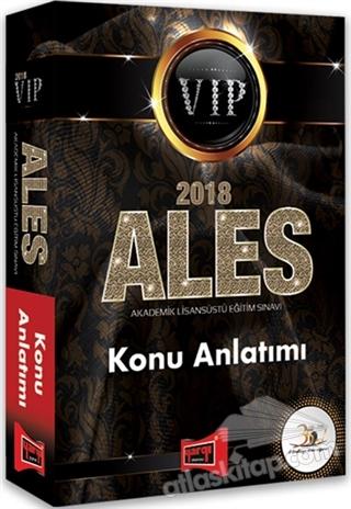 2018 ALES VIP KONU ANLATIMI (  )