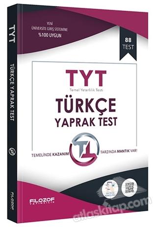 2019 TYT TÜRKÇE YAPRAK TEST ( 88 TEST )