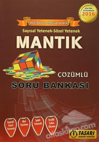 MANTIK ÇÖZÜMLÜ SORU BANKASI ( SAYISAL YETENEK-SÖZEL YETENEK )