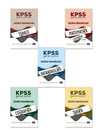 KPSS GENEL KÜLTÜR-GENEL YETENEK SET-LİSANS MEZUNLARI İÇİN / GÜNCEL-PRATİK-EKONOMİK ( KPSS GENEL KÜLTÜR-GENEL YETENEK SET-LİSANS MEZUNLARI İÇİN / GÜNCEL-PRATİK-EKONOMİK-5 KİTAP SET )