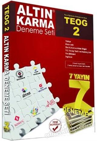 TEOG 2 ALTIN KARMA DENEME SETİ 7 YAYIN 7 DENEME (  )