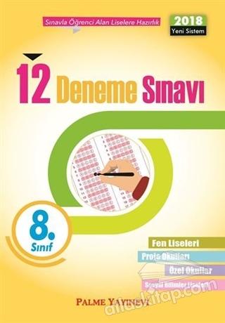 8. SINIF TÜM DERSLER 12 DENEME SINAVI (  )