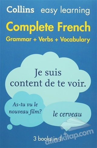 EASY LEARNİNG COMPLETE FRENCH ( GRAMMAR-VERBS-VOCABULARY )
