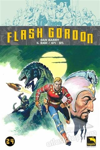 FLASH GORDON 24. CİLT ( 15. ALBÜM / 1974-1975 )