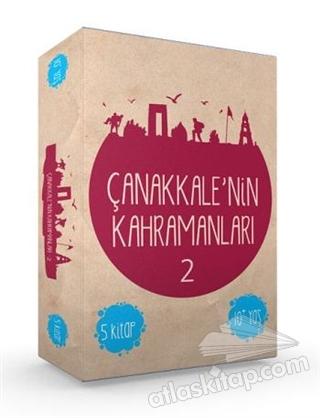 ÇANAKKALE'NİN KAHRAMANLARI - 2 (5 KİTAP TAKIM) (  )