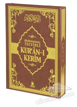 BİLGİSAYAR HATLI TECVİDLİ KUR'AN-I KERİM (RAHLE BOY) (  )
