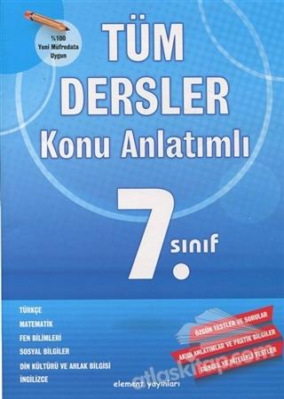 7. SINIF TÜM DERSLER KONU ANLATIMLI (  )