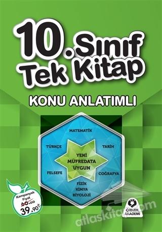 10. SINIF TEK KİTAP KONU ANLATIMLI (  )