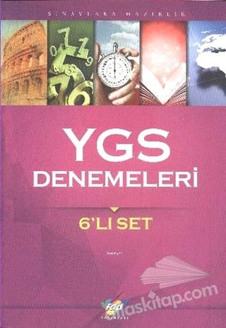 YGS DENEMELERİ 6'LI SET (  )