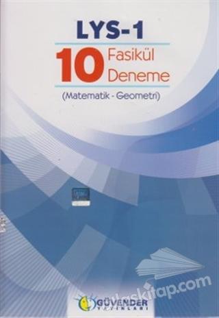 LYS-1 - 10 FASİKÜL DENEME (MATEMATİK - GEOMETRİ) (  )