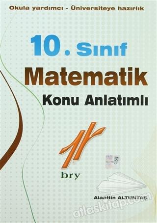 10. SINIF MATEMATİK KONU ANLATIMLI ( OKULA YARDIMCI - ÜNİVERSİTEYE HAZIRLIK )