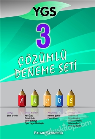 YGS 3 ÇÖZÜMLÜ DENEME SETİ - 2015 (  )