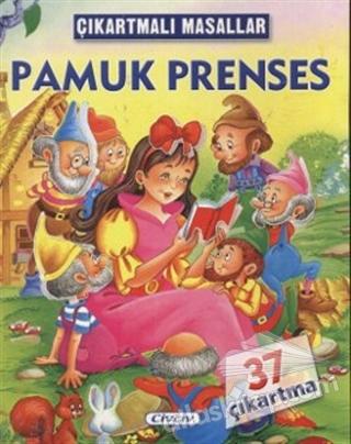 ÇIKARTMALI MASALLAR - PAMUK PRENSES ( 37 ÇIKARTMA )