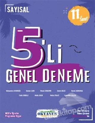 11. SINIF 5'Lİ GENEL DENEME SAYISAL (  )