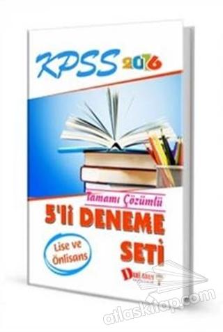 KPSS LİSE-ÖN LİSANS 5'Lİ DENEME SETİ 2016 (  )