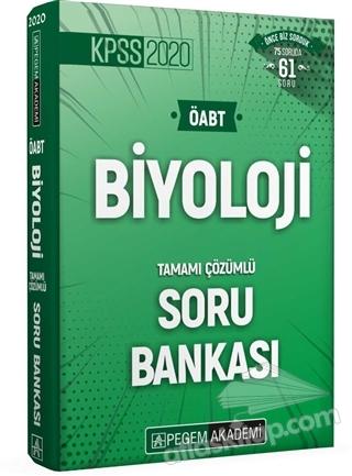 2020 KPSS ÖABT BİYOLOJİ TAMAMI ÇÖZÜMLÜ SORU BANKASI (  )