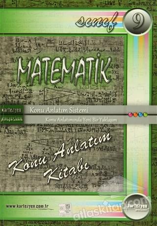KARTEZYEN 9. SINIF MATEMATİK KONU ANLATIM KİTABI (2014) (  )
