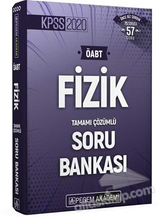 2020 KPSS ÖABT FİZİK TAMAMI ÇÖZÜMLÜ SORU BANKASI (  )