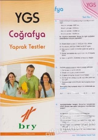 YGS COĞRAFYA YAPRAK TESTLER (  )