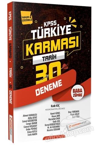 2020 KPSS TARİH 30 DENEME TÜRKİYE KARMASI TAMAMI ÇÖZÜMLÜ (  )