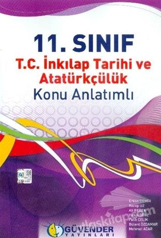 GÜVENDER 11.SINIF TC. İNKILAP TARİHİ VE ATATÜRKÇÜLÜK KONU ANLATIMLI (  )